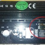 ライザーカードの初期不良。VER003には注意が必要かも?
