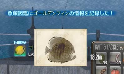 リムサ・ロミンサ 上甲板層_ゴールデンフィン魚拓
