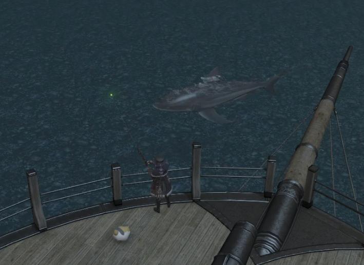 東ラノシア ロータノ海沖合:船尾「メガロドン」